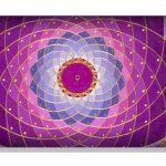 Almohadilla Cervical / Lumbar Mandala Rosa