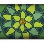 Almohadilla Cervical / Lumbar Mandala Verde