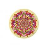 Zafusito para cuencos Mandala Amarillo