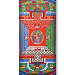Amohadilla para ojos Mandala Yantra
