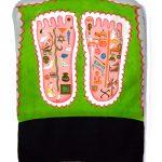 Pantuflón Pies de Loto de Vishnu