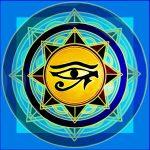 Paño de Tarot Ojo de Horus