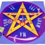 Paño de Tarot Tetragramaton