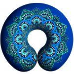 Almohadilla Viajera Mandala Azul