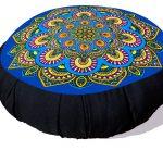 Zafu Mandala Azul