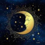 Paño de Tarot Luna